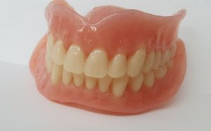 complete upper and lower dentures